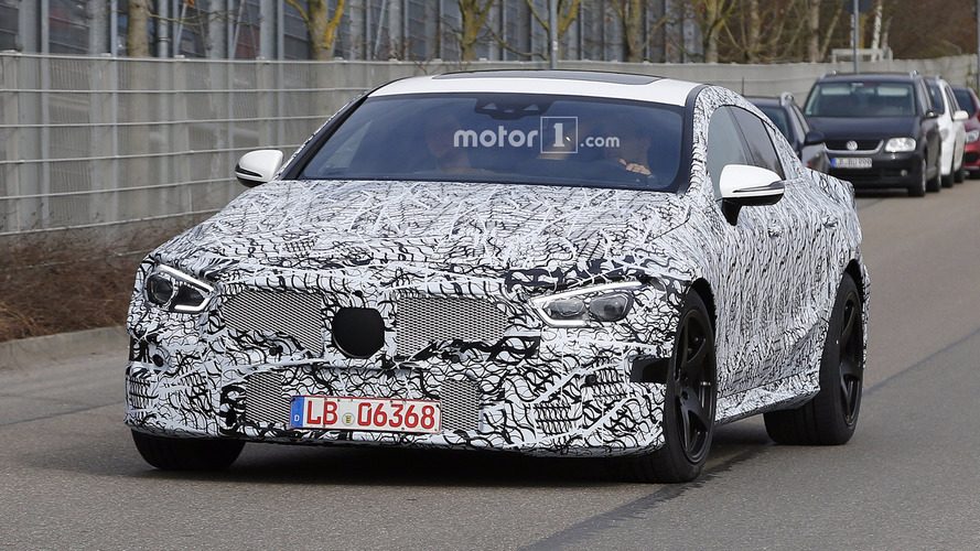 2019 Mercedes-AMG GT sedan spy photos