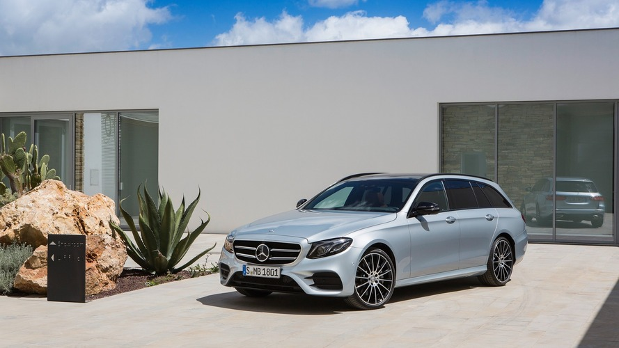Mercedes E-Class wagon and GLC Coupe engine range widened in UK