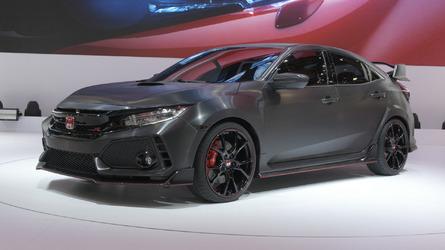 Video: Honda Civic Type R Prototype at the Paris Motor Show