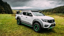 Nissan Navara EnGuard emergency rescue concept has its own drone