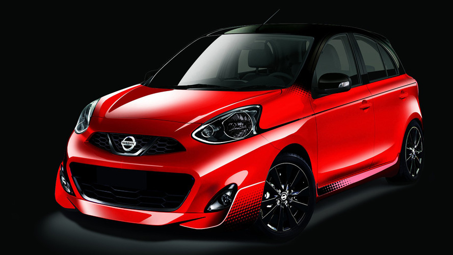 Wide-mouthed Nissan March Midnight Edition ready for debut in Sao Paulo