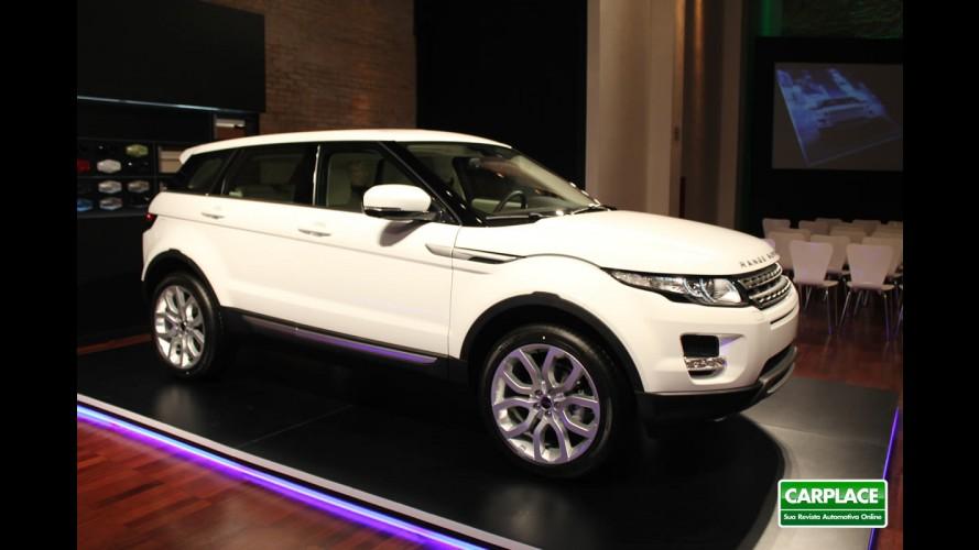 Range Rover Evoque é lançado oficialmente no Brasil com preço inicial de R$ 164.900