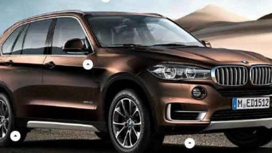BREAKING: 2014 BMW X5 leaked