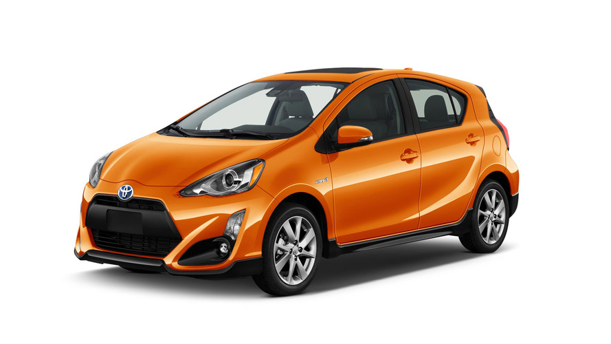 2017 Toyota Prius C facelift makes hybrid hatchback sportier and safer