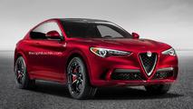 Et si l'Alfa Romeo Stelvio Coupé voyait le jour ?