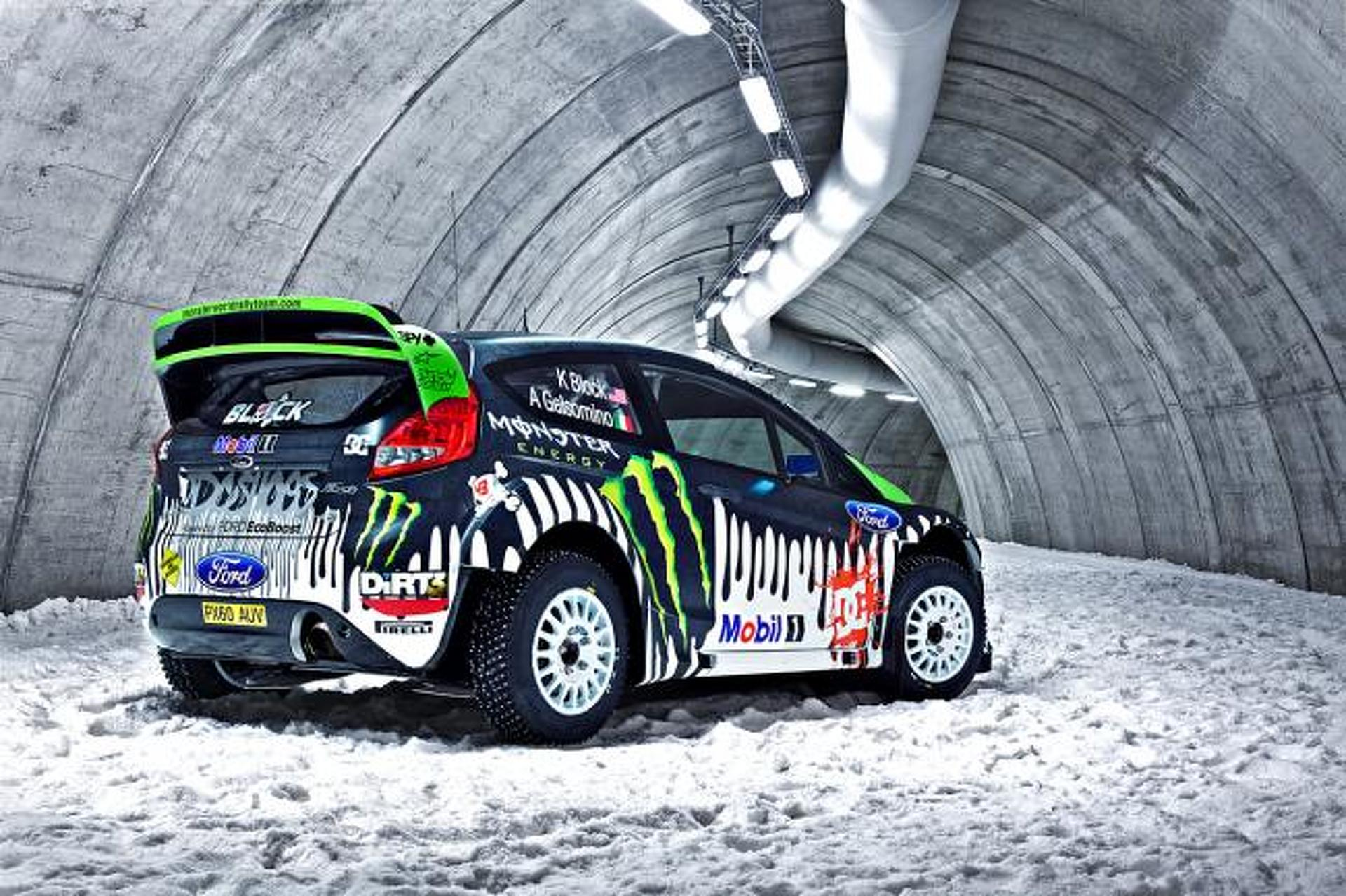 Tech Ride Ken Block S Ford Fiesta Rs Rally Car