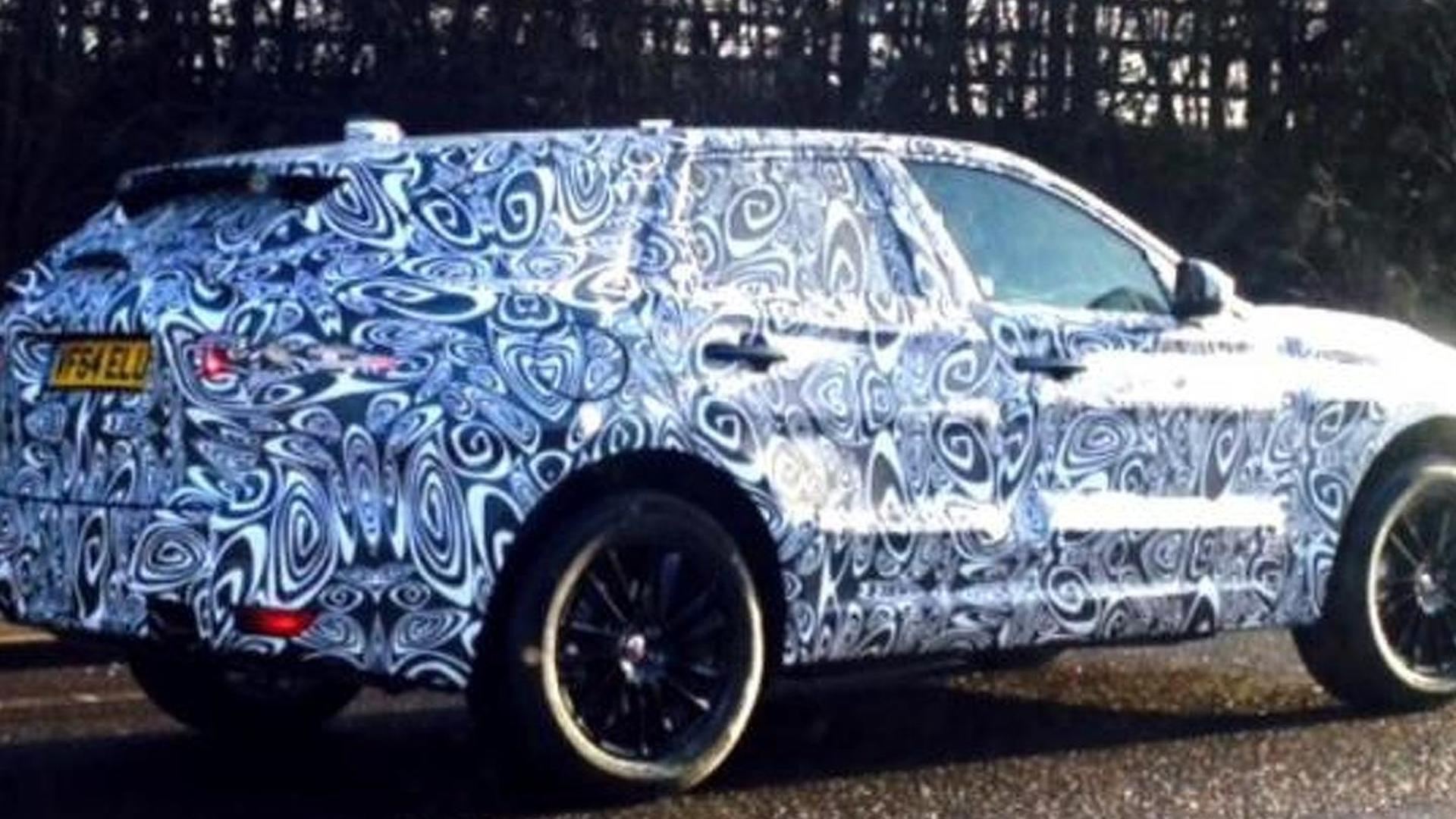 Jaguar F-Pace spied testing in UK