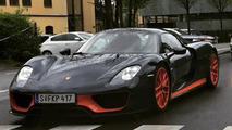 Ferdinand Piech's one-off Porsche 918 Spyder photographed