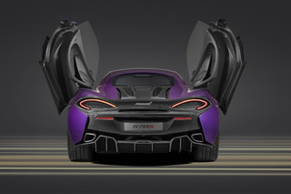 Pretty in Purple: McLaren Readies One-Off 570S For Pebble Beach