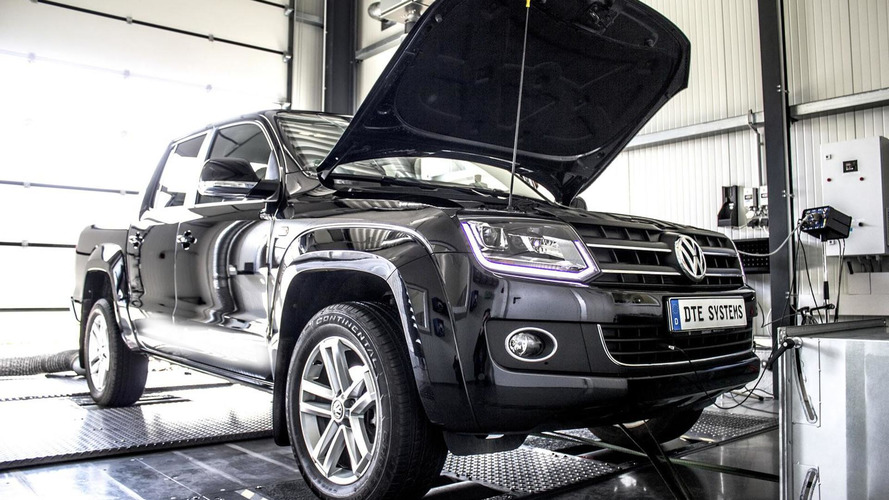 Volkswagen Amarok BiTDI gets power hike from DTE Systems