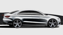 2013 Audi A3 teaser sketches 11.04.2011
