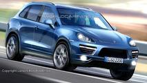 2011 Porsche Cayenne Artists Rendering