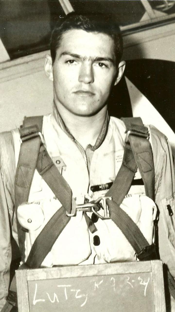 Bob Lutz Early Marine Aviator Photo