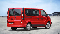 Opel Vivaro Combi revealed with removable second and third row seats