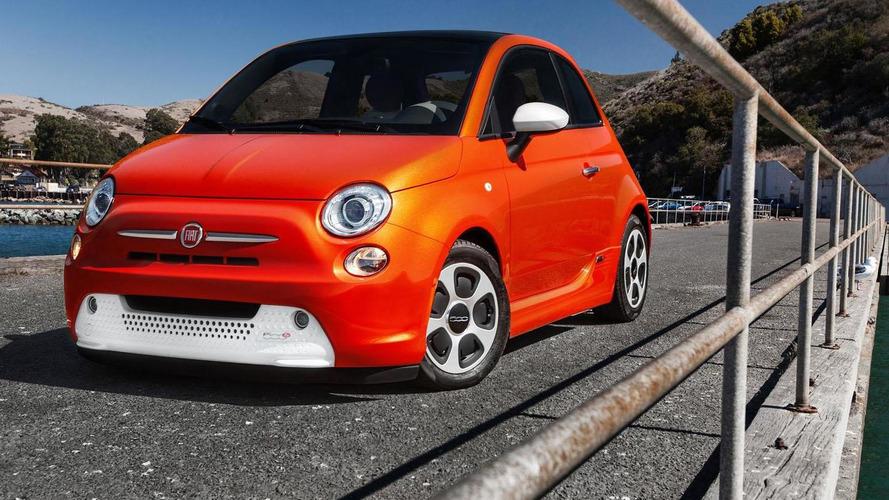 Ten celebrity designed Fiat 500e models headed for auction