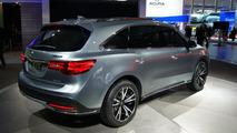 Acura MDX concept live in Detroit 15.1.2013