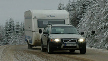 Volvo Towing Tests With Robots