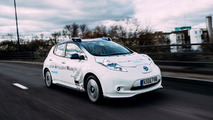 Des Nissan Leaf autonomes dans les rues de Londres