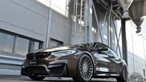 BMW M4 Pyrite Brown