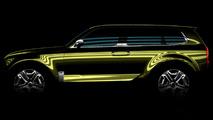 Kia SUV concept teased for Detroit