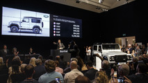 Land Rover Defender 2,000,000 auctioned for £400,000