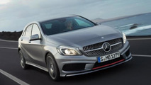 New 2013 Mercedes A-class press images leaked