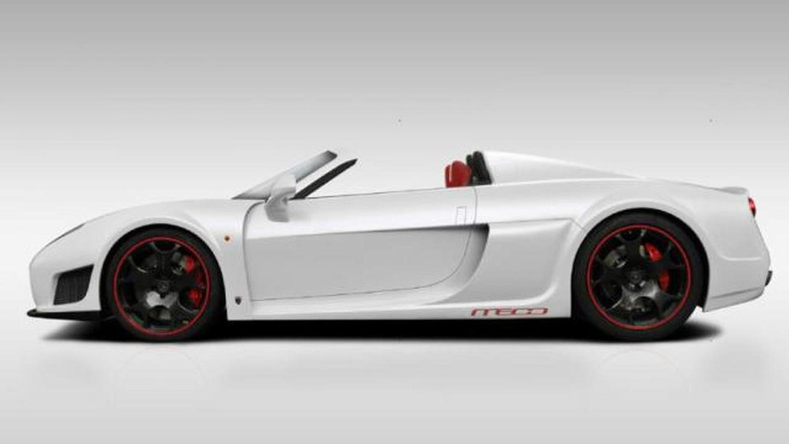 Noble M600 roadster rendering released