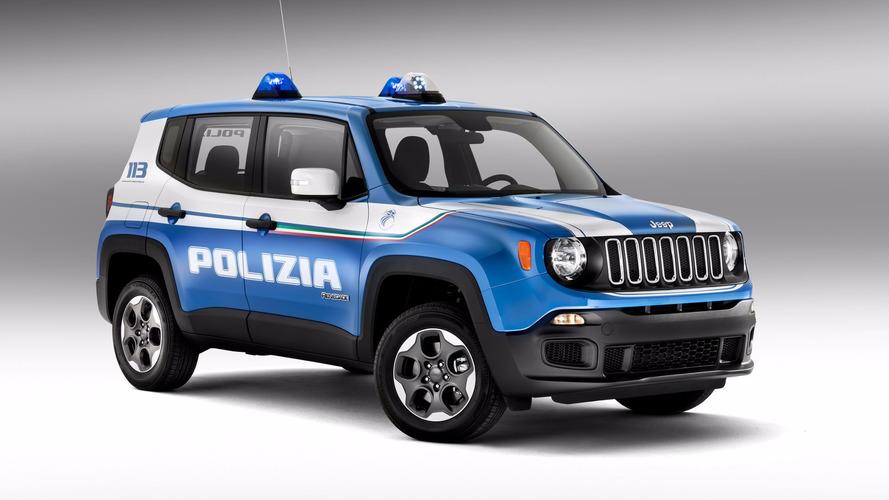 Jeep Renegade e Alfa Romeo Giulia e Giulietta viram carro de polícia