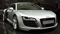 Audi R8 at Paris Motor Show