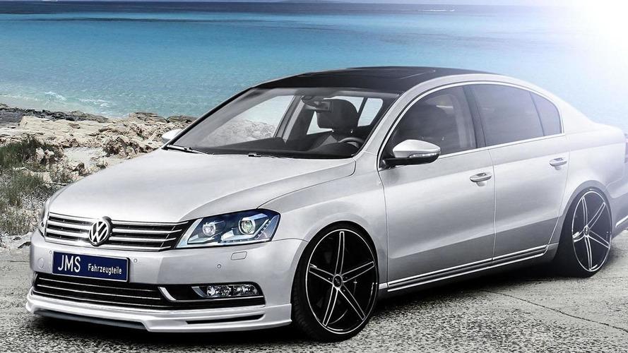 JMS tunes the facelifted Volkswagen Passat