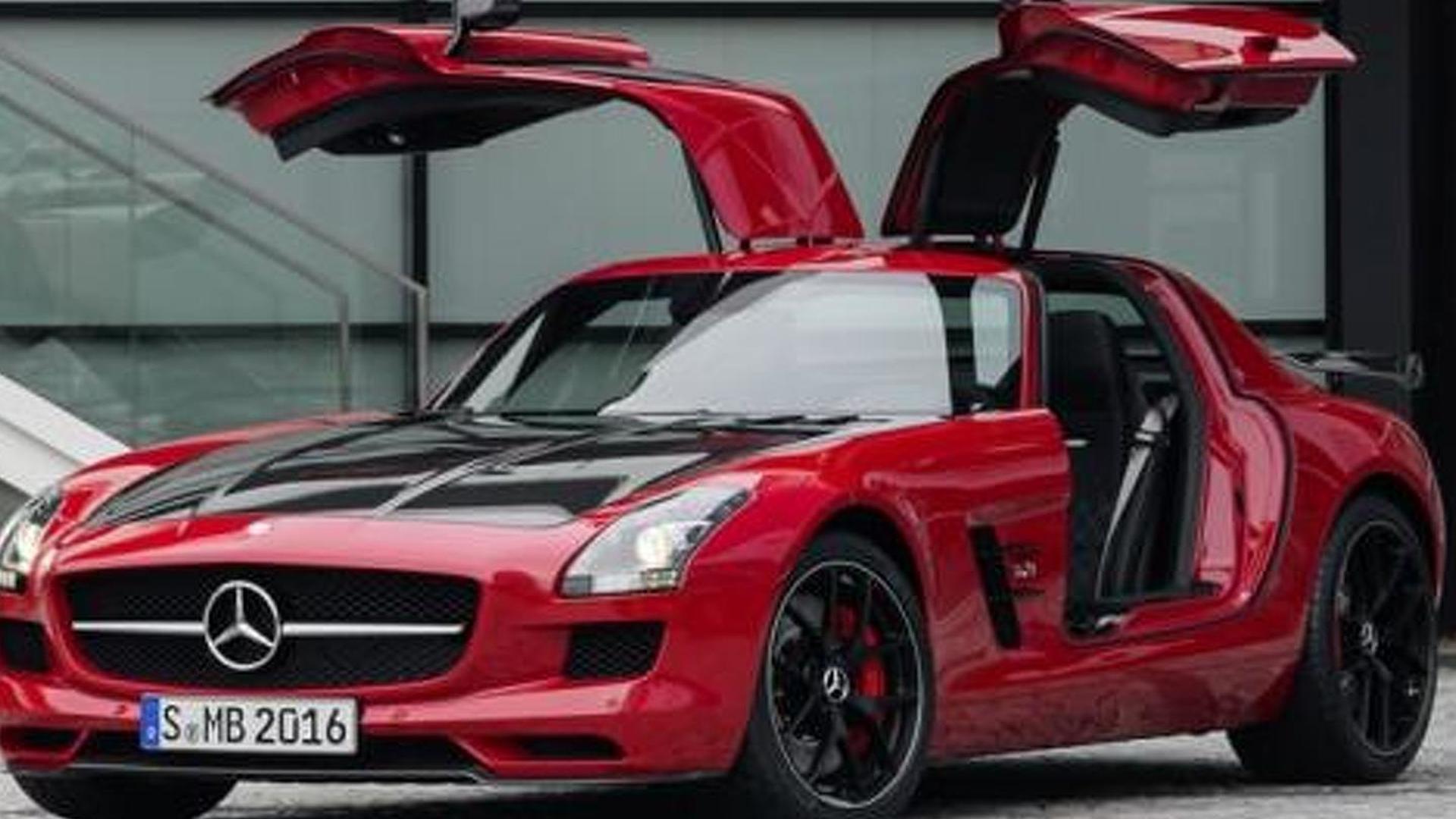 2014 mercedes benz sls amg gt final edition breaks cover for Mercedes benz sls gt amg