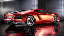 Lamborghini Aventador with foil wrap from Print Tech 23.10.2013