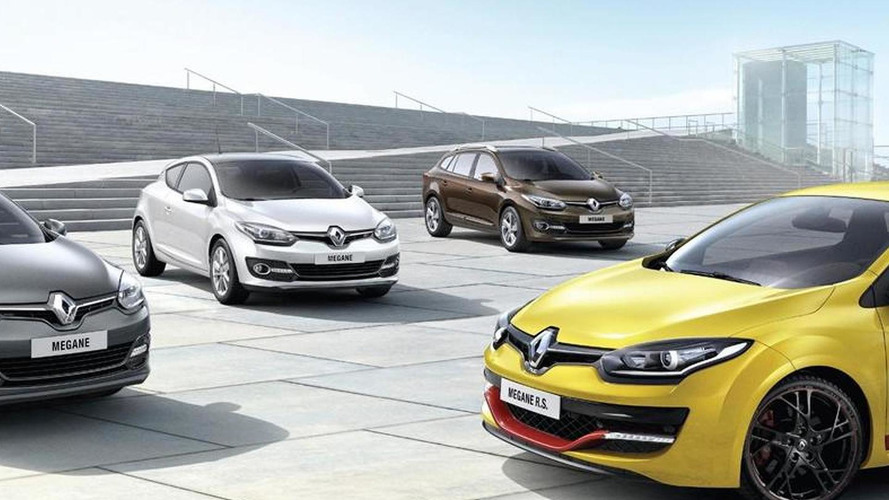 Renault Megane lineup receives a new front fascia