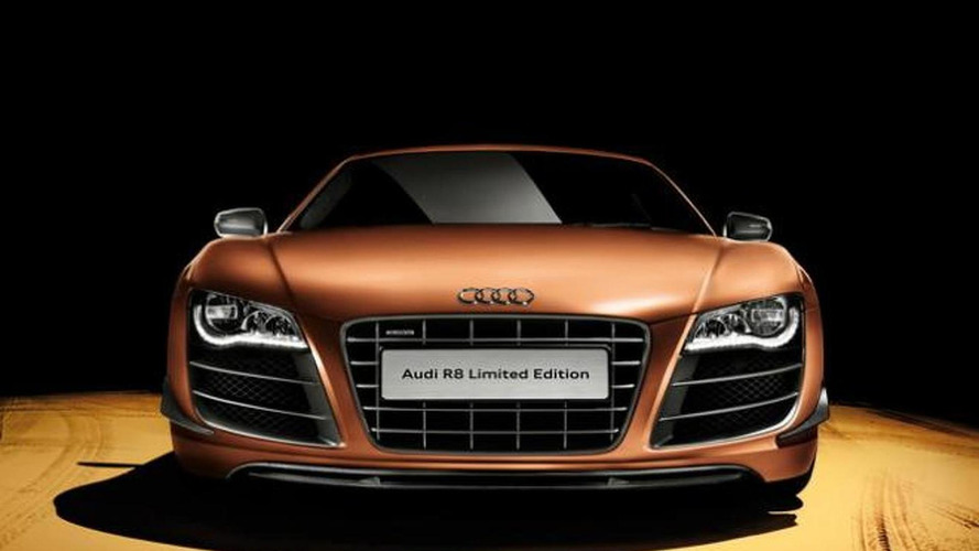 Audi R8 Limited Edition announced for China