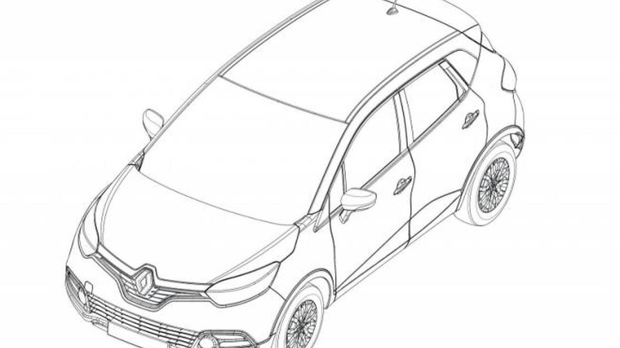 Renault Captur compact crossover production version teased [video]