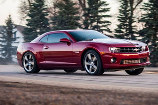 Diesel-Swapped Chevrolet Camaro is All About Torque