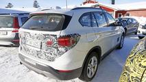 BMW X1 Plug-in Hybrid spy photos