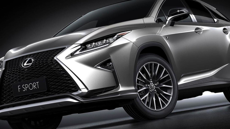2016 Lexus RX 200t F SPORT arrives in Shanghai with 2.0-liter turbo engine