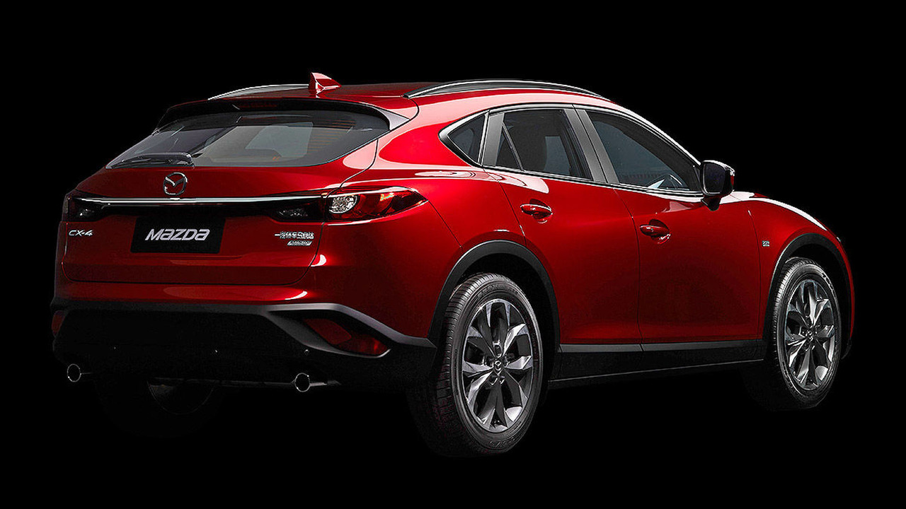 mazda cx 4 breaks cover as china only model. Black Bedroom Furniture Sets. Home Design Ideas