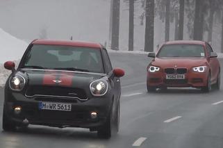 Video: Autocar Pits Mini Paceman JCW against BMW M135i