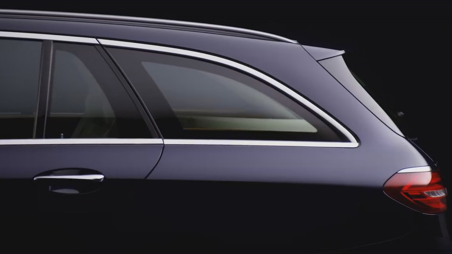 2017 Mercedes E-Class Estate teased, debuts June 6th