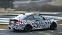 2016 BMW M2 Coupe spy photo