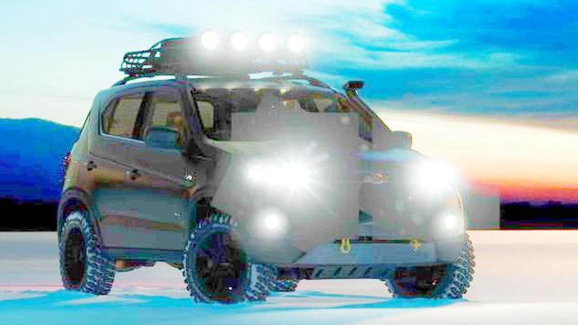 2014 Chevrolet Niva concept teased ahead of Moscow Motor Show