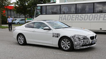 BMW 6-Series Coupe facelift spy photo
