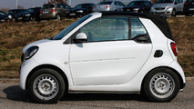 2016 Smart ForTwo Cabrio spy photo