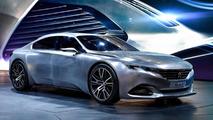 Updated Peugeot Exalt concept beautifies Paris Motor Show