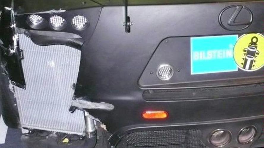 Lexus LF-A Nürburgring 24 Crash, Engine & Interior Spy Photos