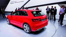 2013 Audi S3 live in Paris 27.09.2012