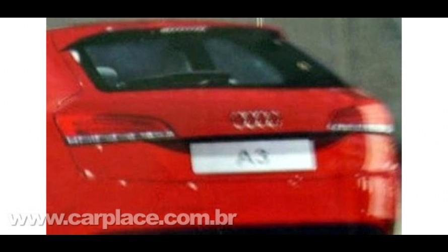 Vaza imagem da traseira da nova geração do Audi A3