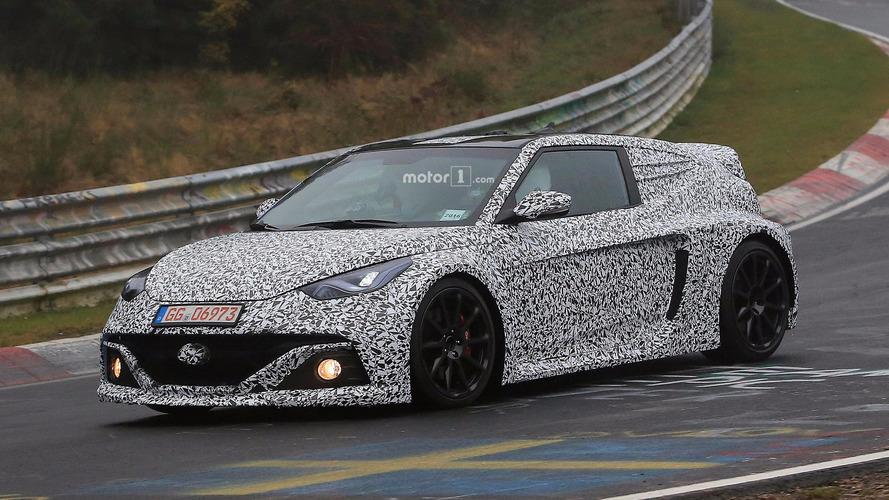 PHOTOS - La future Hyundai RM16 N surprise sur le Nürburgring !